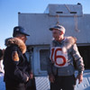 Orville Lake and Dr. Roland Lombard, Alaska State Champion sled dog races of 1964.